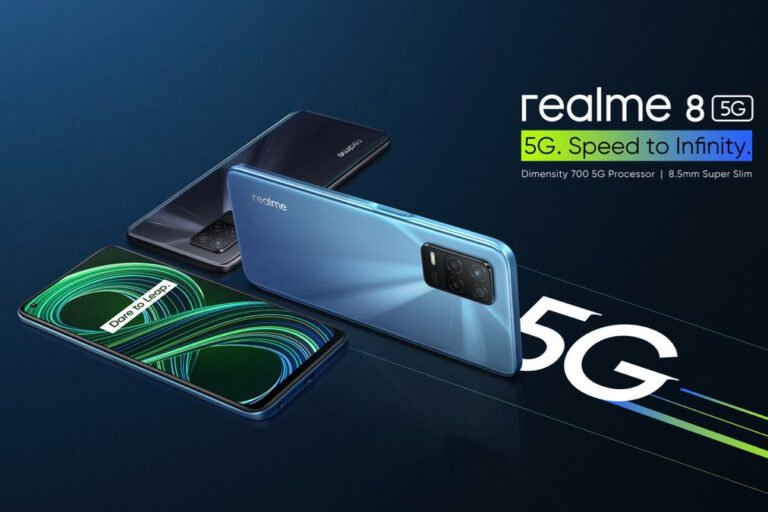 Realme 8 5G Launched in India with Dimensity 700 SoC and Triple Rear Cameras