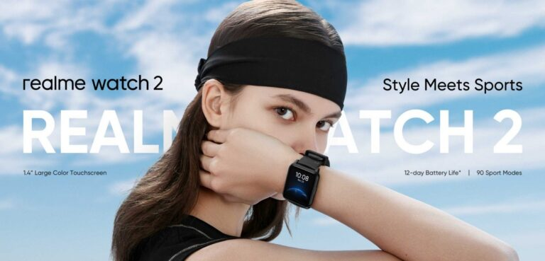 Realme Watch 2 Launched with 90+ Sports modes and 100+ Watch Faces