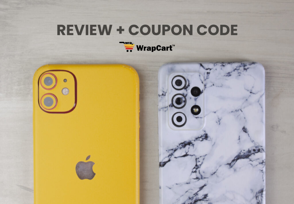 WrapCart Skins Review - Sleek On Your Phone, Easy On Your Pocket